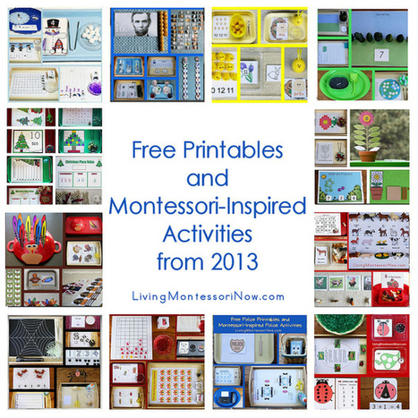 Montessori Monday – Free Printables and Montessori-Inspired Activities from 2013 | Montessori Inspired | Scoop.it