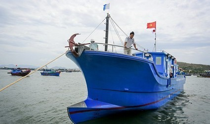 Japan-funded composite tuna fishing boat launched in central Vietnam - Tuoitrenews   Global Aquaculture News & Events   Scoop.it