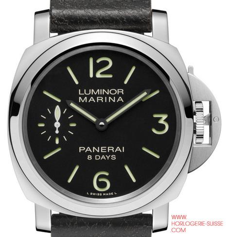 LUMINOR MARINA 8 DAYS - Horlogerie-suisse.com   Inforamation de l´Aluminum et l´acier inoxydable   Scoop.it