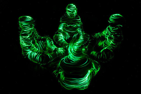 Light Paintings by Janne Parviainen | Arts○Humanities○Society○Culture | Scoop.it