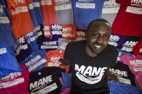 "Memphis entrepreneur is the ""mane"" behind T-shirt venture - Memphis Commercial Appeal 