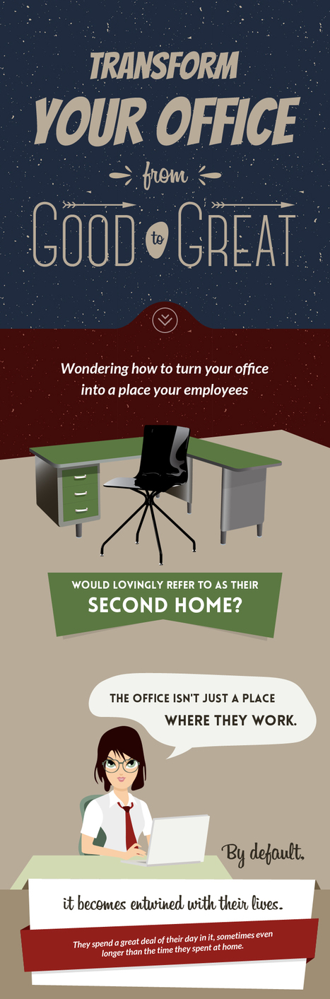Transform Your Office from Good to Great | Office Furniture UK | Scoop.it