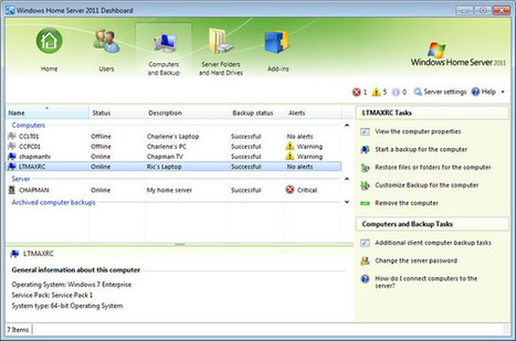 Manage Your Home Office with Windows Home Server | Anti-Cloud | Scoop.it
