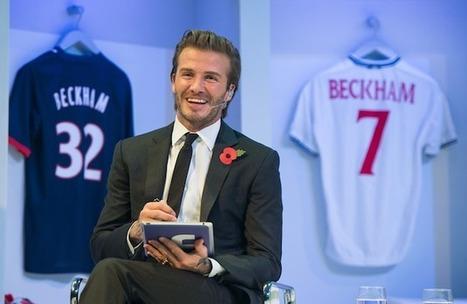 10 lezioni che possiamo imparare da David Beckham per migliorare il nostro personal branding | Associazione Alveare - Avventure Culturali | Scoop.it