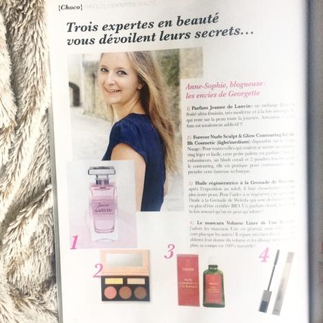 parution dans le 2ème numéro de Choco Magazine | Revue de Presse Les Envies de Georgette | Scoop.it