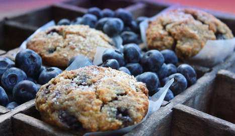 Grain-Free Blueberry Almond Crumb Muffins from Nourished Kitchen | Celiac Handbook | Catering, Food Baskets, Delicatessan, Parties, Weddings | Scoop.it