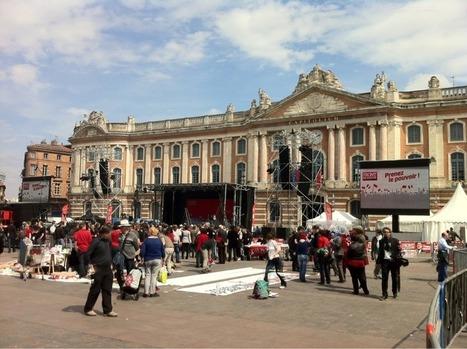 La Ville Rose s'habille en rouge & noir ce soir | Toulouse La Ville Rose | Scoop.it