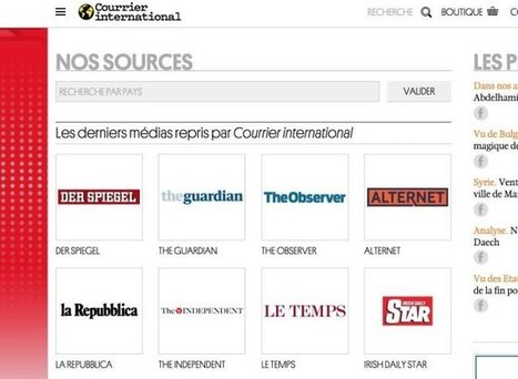 3 ressources en ligne pour suivre l'actualité à travers la presse mondiale – Les Outils Tice | Education et TICE | Scoop.it