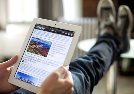 News.me iPad App Shows the Best Articles from Your Twitter Contacts... and from Theirs Too | Mobile Journalism Apps | Scoop.it