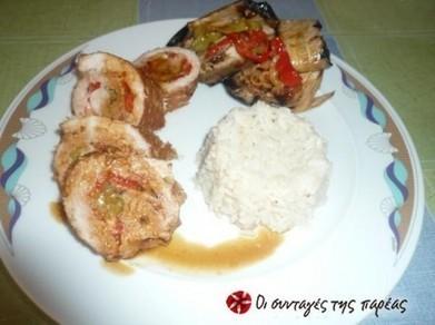 Ανοιξιάτικα ρολά σνίτσελ | φαγητα | Scoop.it