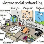Vintage Social Networking | Something to Make You Laugh | Scoop.it