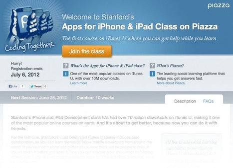 iTunes U Just Got A Killer New Feature | Edudemic | Edtech PK-12 | Scoop.it
