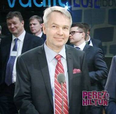 Finland Could Have A Gay President!   PerezHilton.com   Finland   Scoop.it