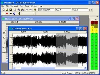 Éditer des fichiers audio gratuitement sur Windows avec WaveShop | Astuces | Scoop.it