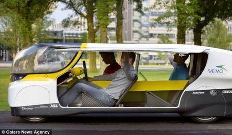 La première voiture à énergie positive est née | Economie Responsable et Consommation Collaborative | Scoop.it