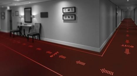 Et Philips lance la moquette à LED | La Domotique et le Net | Scoop.it