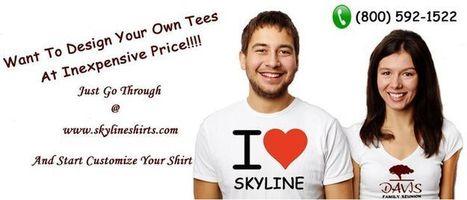 Custom Tees | Skylineshirts | Scoop.it