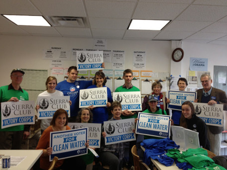 photo: @Sierra_Club Victory Corps Members Getting Ready to Canvass for @Elizabethforma in Lexington today | Massachusetts Senate Race 2012 | Scoop.it