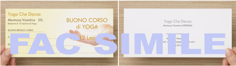 Buono regalo per Corso di Yoga – idee da regalare | Yoga Che Danza | #communicando | Scoop.it