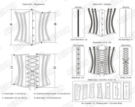 Brocade underbust reversible corset | Corsets | Scoop.it