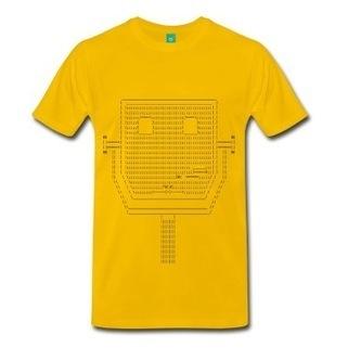 ASCII Pay Binoculars T-Shirt | Spreadshirt | ASCII Art | Scoop.it