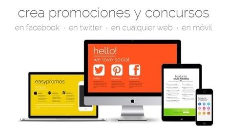 Easypromos ayuda a crear promociones online con las redes sociales - Todostartups | comunicologos | Scoop.it