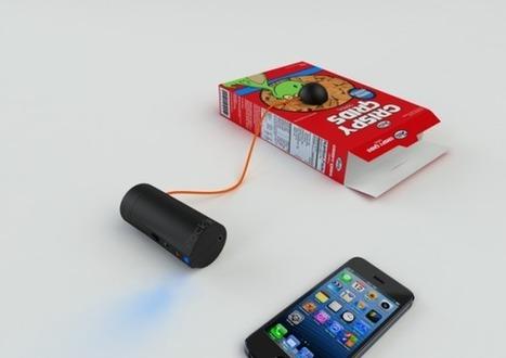 Pas d'enceinte pour votre Smartphone ? Pas de problème ! Voici le Rock'R. | Actinnovation© | Objets connectés et innovants | Scoop.it