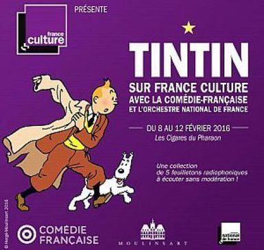 Tintin adapté en feuilleton radiophonique sur France Culture | Radioscope | Scoop.it