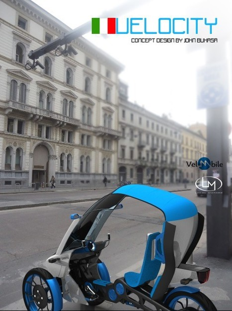 Velocity : le vélo du futur sera compact et connecté | ubimedia and ubiquitous internet | Scoop.it