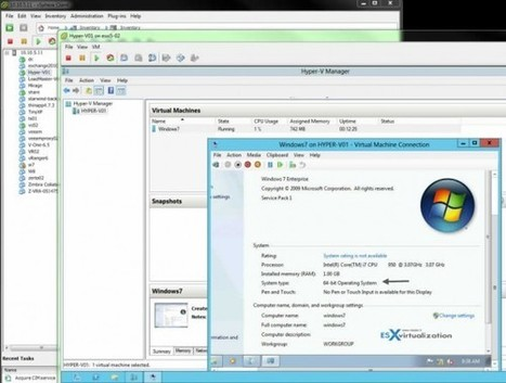 ESXi 5.1 Free – how to run nested Hyper-V | LdS Innovation | Scoop.it
