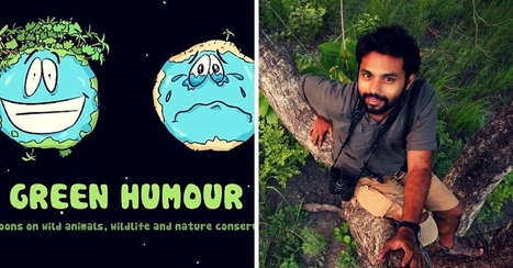 One Artist Uses Snarky Humour to Highlight Environmental Issues | This Gives Me Hope | Scoop.it