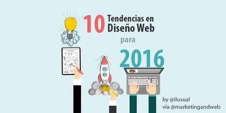 10 Tendencias en Diseño Web para 2016 + Ejemplos | JAV - #SocialMedia, #SEO, #tECONOLOGÍA & más | Scoop.it