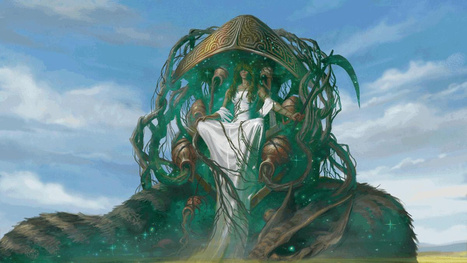 Legends walk among us in this Magic the Gathering: Born of the Gods art | Corusca | Scoop.it