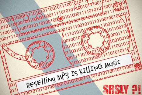 Vend fichier MP3 très peu servi | Education & Numérique | Scoop.it