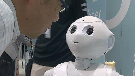 'Pepper' the emotional robot, sells out within a minute - CNN.com | Cyborg Lives | Scoop.it