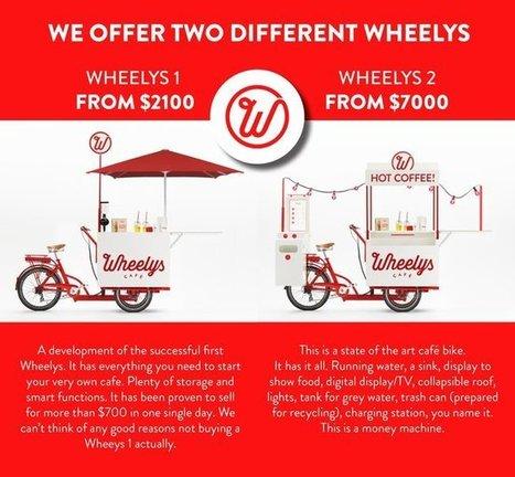 Pedal powered coffee bikes could be green money machines | Ô bô velô ! | Scoop.it