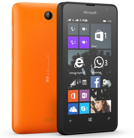 Microsoft launches Lumia 430 Dual Sim Smartphone in India | All About Technology | ALL ABOUT TECH | Scoop.it