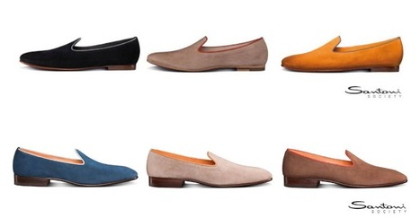 Santoni Society: Summer must have: the slippers for him and for her | www.fitflopfrousandalsuk.co.uk | Scoop.it
