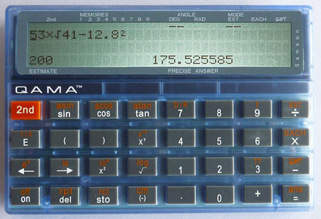 Educational Calculator Makes Students Think - IEEE - The Institute | Each One Teach One, Each One Reach One | Scoop.it