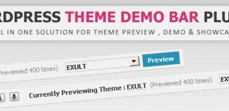 WordPress Theme Demo Bar – Il plugin per visualizzare anteprime e demo di temi per Wordpress | wordpressmania | Scoop.it