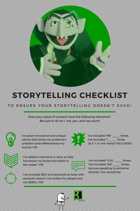 Your Storytelling Sucks! - B Squared Media // B² Blog | Storytelling in Marketing | Scoop.it