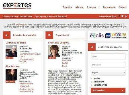 Un site Internet pour favoriser la présence des expertes dans les médias | New Journalism | Scoop.it