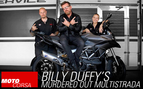 Billy Duffy's Multistrada - MotoCorsa.com | Ductalk Ducati News | Scoop.it