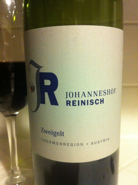 The Unexpected Austrian: Johanneshof Reinisch Zweigelt | A Scholar and a Lush | Alpine Wine & Heroic Winemaking | Scoop.it