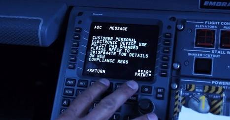 JetBlue Shows First Moments of FAA-Approved Gadget Use on Flights [VIDEO] | Communication design | Scoop.it