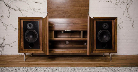 Wrensilva Standard One matches modern tech with a classic look   HOME AUDIO & VIDEO   Scoop.it