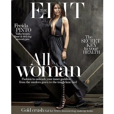 Stunning Frieda Pinto Photo From Edit Magazine Cover Page - Hot Indian Actress Photos | Indian Actress Latest Photos | Scoop.it