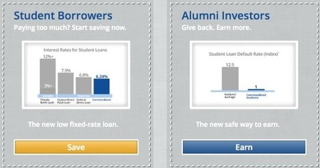 CommonBond Launches - Solving Student Debt Crisis? | Instead of Money $$$ | Scoop.it