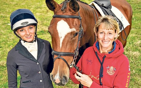 Olympic Medallist Mary King: 'My daughter can't wait to beat me' - Telegraph (London) | Fran Jurga: Equestrian Sport News | Scoop.it