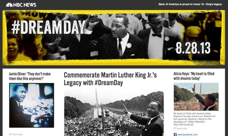 Dream Day – NBC News – #DreamDay | Hashtag : actualités et fonctionnalités | Scoop.it